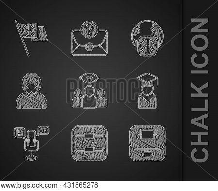 Set Spy, Agent, Barbed Wire, Vote Box, Graduate And Graduation Cap, Freedom Of Speech, Censor Freedo