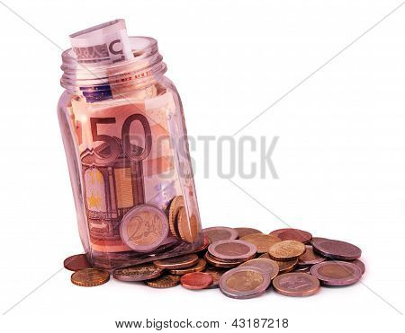 Small Money Jar
