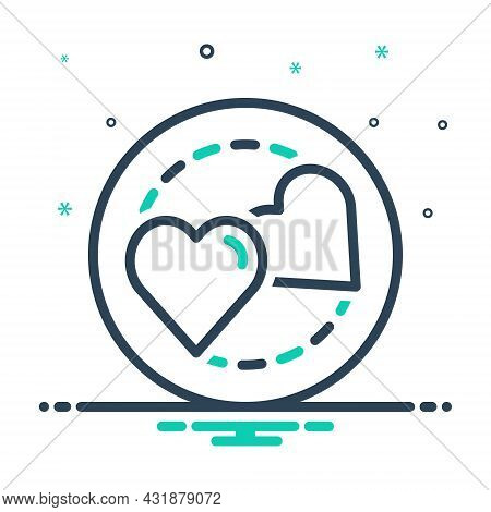 Mix Icon For Love Intercourse Romance Physicality Neuter Marital Gender Relationship Sexual