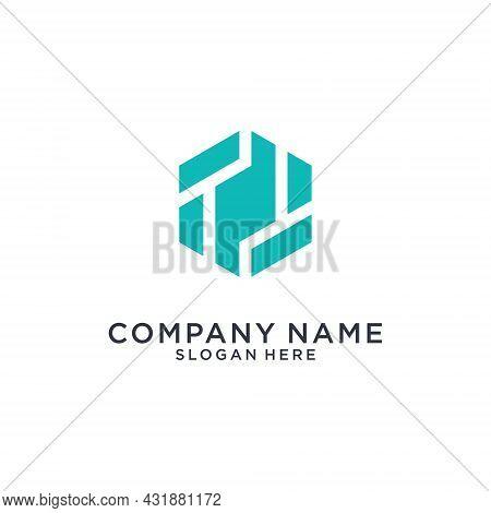 Tt Or T Initial Letter Logo Design Vector On White Background.