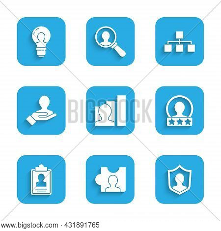 Set Productive Human, Head Hunting, User Protection, Create Account Screen, Clipboard With Resume, H