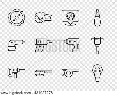 Set Line Electric Drill Machine, Angle Grinder, Circular Saw Blade, Reciprocating, Cordless Screwdri