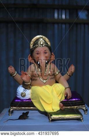 Lord Ganesha, Ganpati Festival, Cute Ganesha Idol