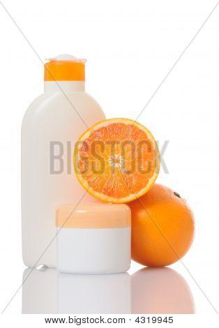 Cream With Orange