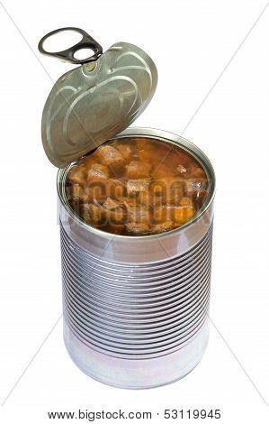 Dog or cat canned food