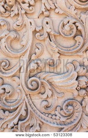 Stone Carved Decoration