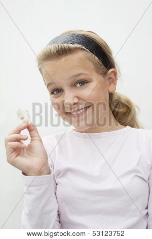 Child With Retainer