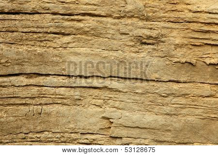 Natural rock surface texture