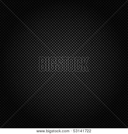 Metallic background with carbon texture