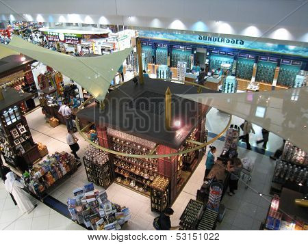 Dubai Duty Free at the International Airport