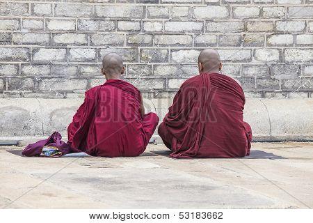 Two Monks Praying