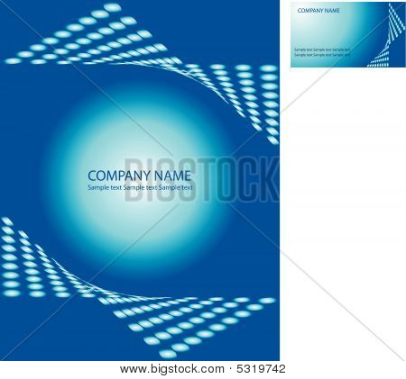Abstract Business Book Cover Design