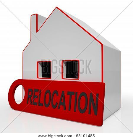 Relocation House Shows Move And Live Elsewhere