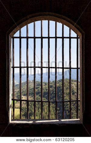 View From Prison Window