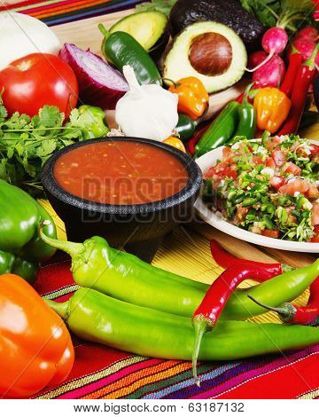 Traditional Mexican Salsas