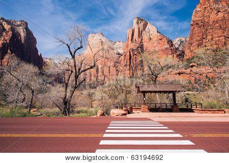 Zion Bus Stop