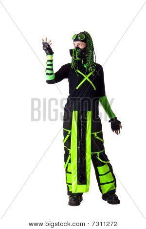Cyber Goth Guy