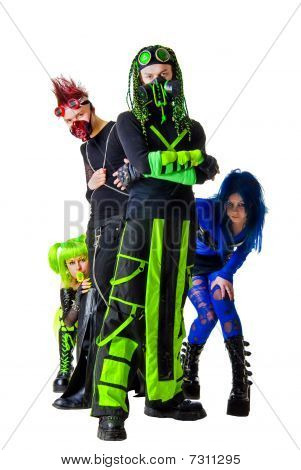 Pretentious Cyber Goth Team