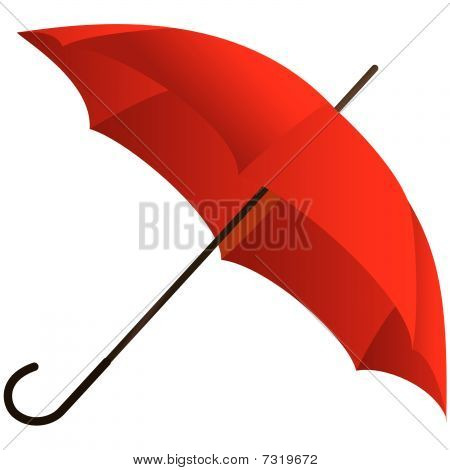 The red umbrella