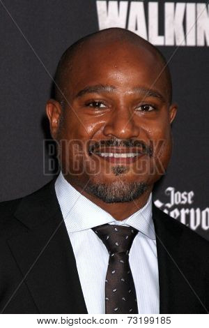 LOS ANGELES - OCT 2:  Seth Gilliam at the
