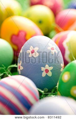 Rough Stroked Easter Egg