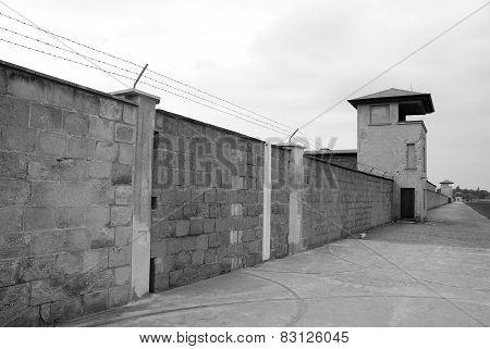 Mirador of Nazi concentration camp