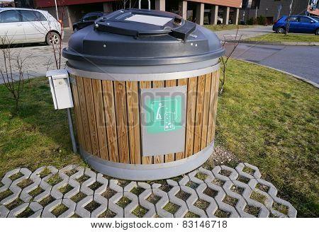 Modern  Ecological Trash Bin