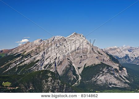 Aerial View Of Cascade Mountain