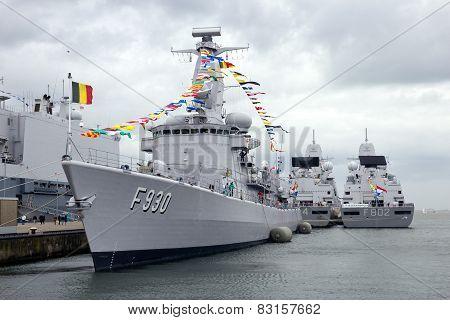 Belgian Navy Frigate