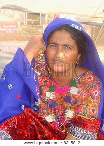 Traditional Rajasthani women