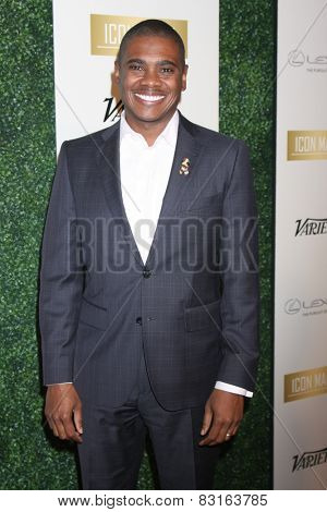 LOS ANGELES - FEB 18:  Courtney Armstrong at the ICON Mann Power Dinner Party at a Mr C Beverly Hills on February 18, 2015 in Beverly Hills, CA