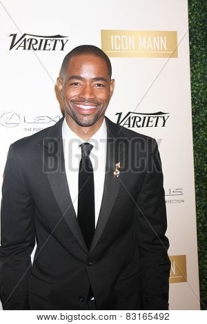 LOS ANGELES - FEB 18:  Jay Ellis at the ICON Mann Power Dinner Party at a Mr C Beverly Hills on February 18, 2015 in Beverly Hills, CA