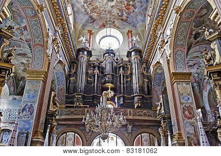Interior Bernardine Church