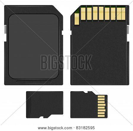 SD and microSD