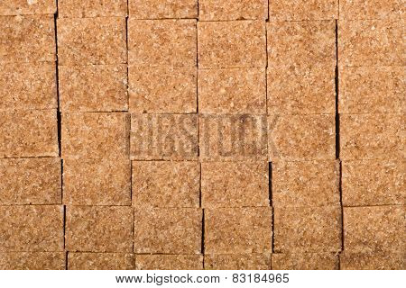 Brown Cane Shugar Cubes