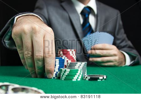 Blackjack in a casino