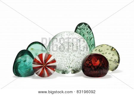 Paperweights Glass Antique