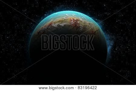 3D Earth Like Planet