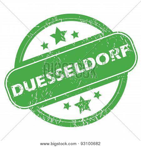 Duesseldorf green stamp