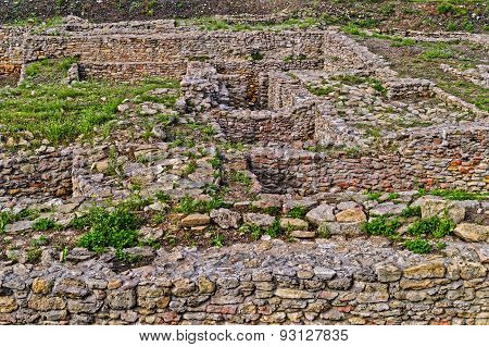 Archeological dig of the city of Tanais founded in the first quarter of the 3rd century by Greek colonists poster