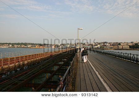 View of Ryde from Ryde Pier