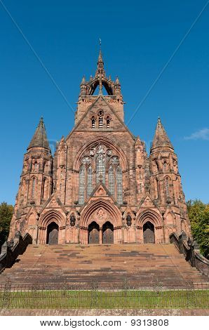 Beautiful Church In Paisley, Scotland