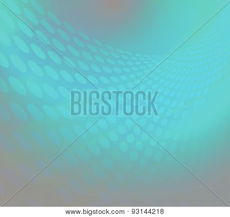 Fractal Wave Vector Blue