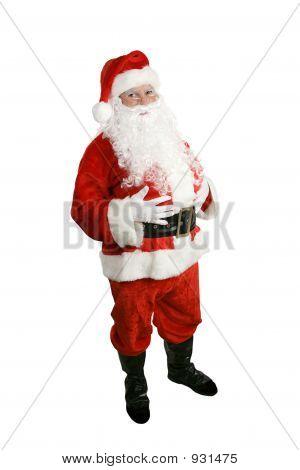 Santa Claus - corps entier isolé