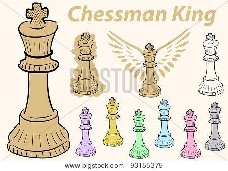 king chessman clipart