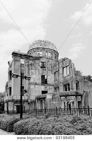 Atomic Bomb Dome In Hiroshima, Japan. Unesco Site