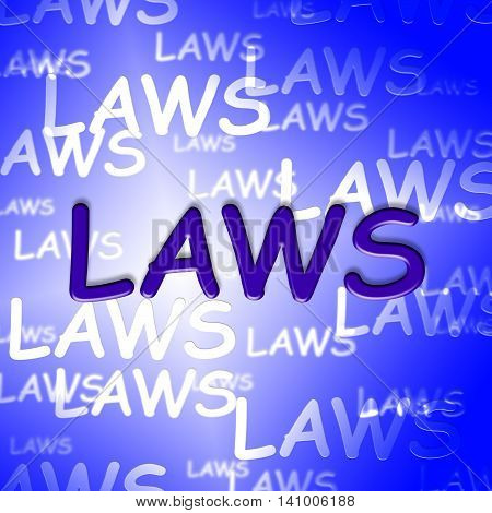 Law Words Means Statutes Rule And Lawyer