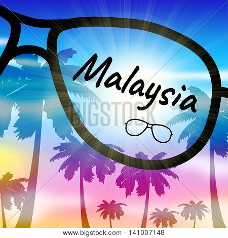 Malaysia Holiday Indicates Go On Leave And Getaway