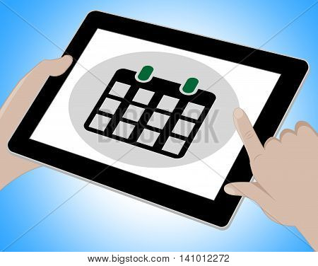 Schedule Tablet Represents Computing Www And Timetable