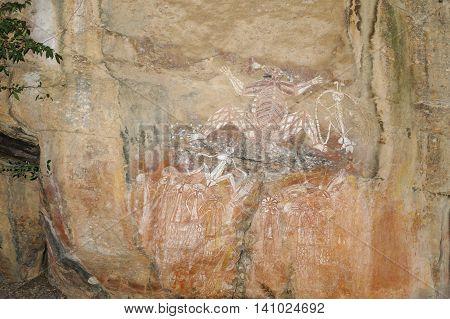 Ancient Rock Drawings